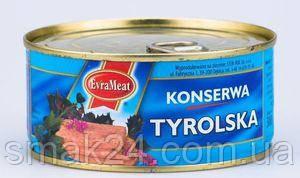 Консерва EvraMeat Meat Tyrolska  Польша 300г