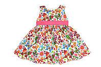Платье детское  « Бабочки мелкие  »     Состав : Хлопок, фото 1