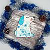 Пряник имбирно-медовый Собака, фото 2