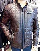 Куртка из натуральной овчины, мужская, стеганная, фото 1
