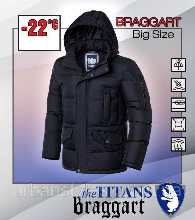 Стильная куртка большого размера Braggart Titans