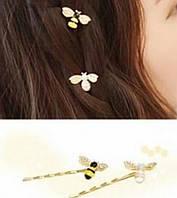Заколки для волос Пчёлки 2шт, фото 1
