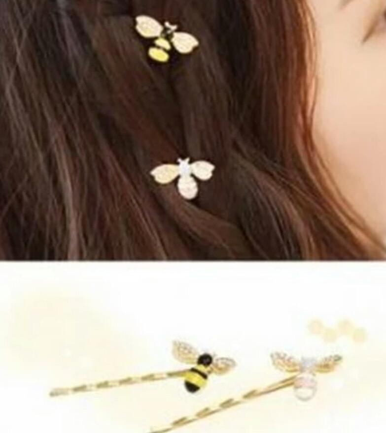 Заколки для волос Пчёлки 2шт