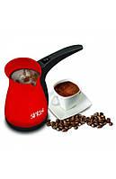 Электрическая турка (кофеварка) Sinbo SCM-2928 красная