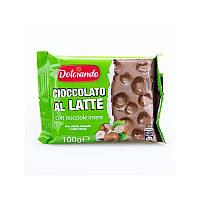 Шоколад С Фундуком Dolciando Cioccolato Al Latte, 100 Г
