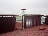 Дымоход, для газового котла к отопительным установкам работающим на природном газе