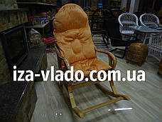 """Кресло-качалка плетеная из лозы """"Разборная 1+"""", фото 3"""