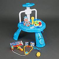 """Игровой набор """"Доктор"""" 311-1 33 предмета, свет, звук, на батарейке"""