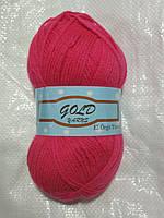 Gold Yarn 300 -01-Полушерстяная Пряжа для  ручного Вязания