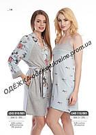 Домашнее платье, сорочка женская LND 115/001(ELLEN)