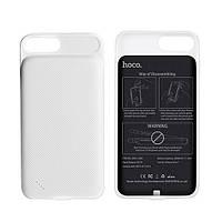 Чехол для Iphone 7 с доп.батареей HOCO BW2 3000mah (White)