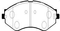 Колодки тормозные передние Lacetti/GENTRA SP1159