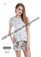 Домашний комплект, пижама женская LNP 125/001 (ELLEN). Коллекция осень-зима 2018! Спешите быть первыми!