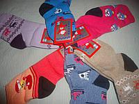 Махровые детские носки р.18 (девочка)