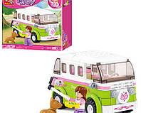 Конструктор Розовая мечта Микроавтобус