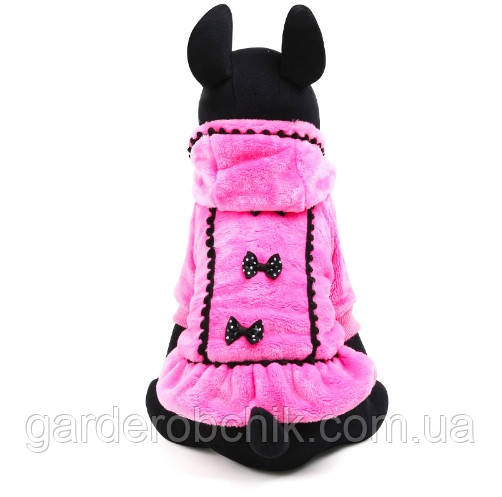 """Пальто, платье теплое """"Маркиза"""" для собаки, кошки. Одежда для собак, кошек."""