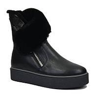 Ботинки на платформе женские зима