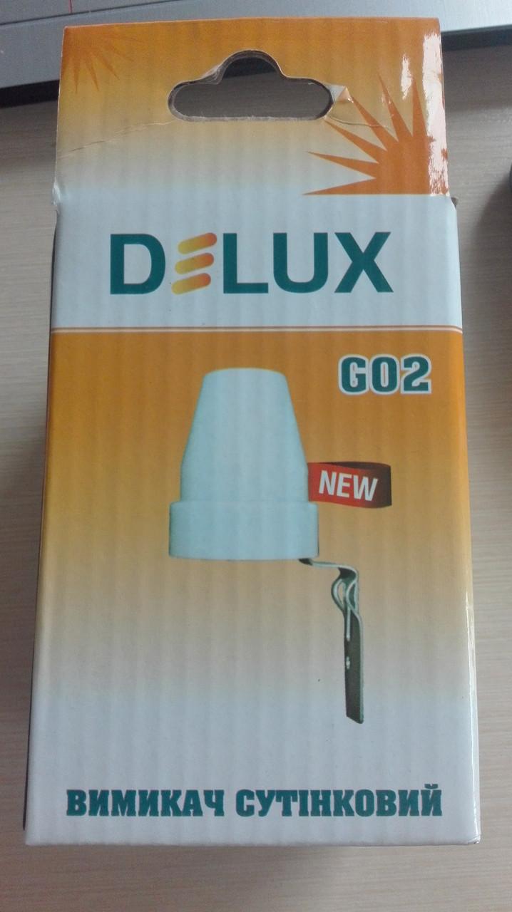 Сумеречный датчик DELUX GO2 10А