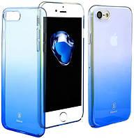Накладка Baseus Glaze Series iPhone 7Plus/8Plus (Blue), фото 1