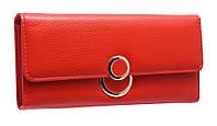 Красный Женский Кошелек на кнопке (K810 red)