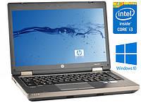 """Производительный ноутбук HP ProBook 6470b i3 2370 12.5"""" 4GB 320GB"""