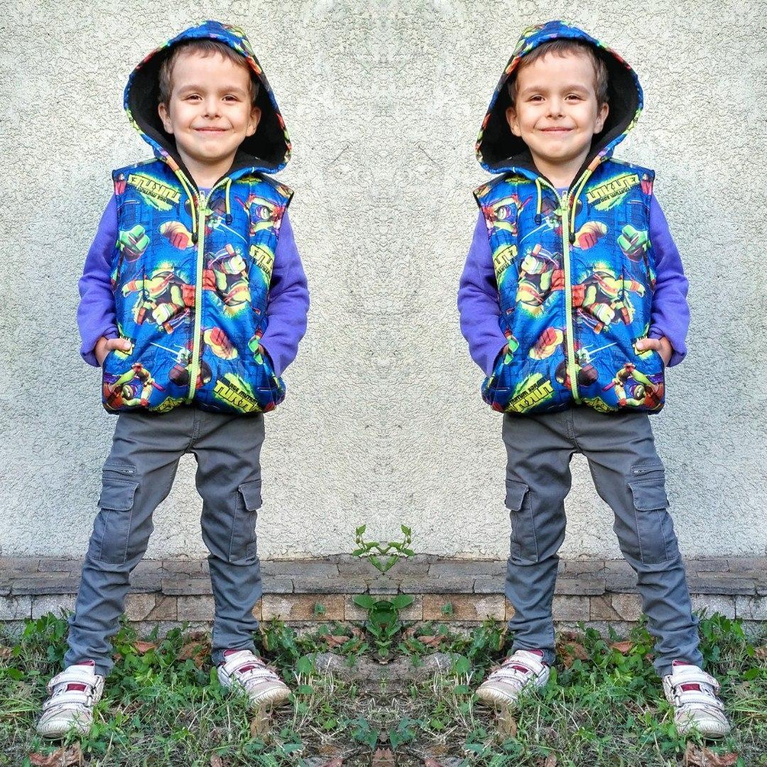 Детская жилетка ок7001