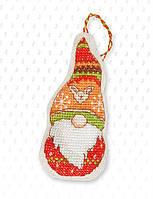 Набор для вышивки крестом Luca-S ёлочная игрушка - JK012