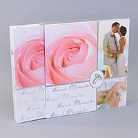 Фотоальбом свадебный Размер 5-32-34см, 20 магнитных листов