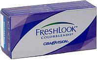 Цветные контактные линзы на 1 месяц Freshlook Comfort, 2шт