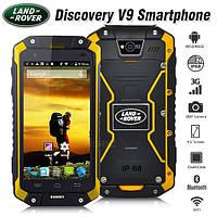 "Смартфон Телефон Бронированный Land Rover Discovery V9 Orange IP68 Экран 4.5"" ОЗУ/ПЗУ 1 / 8 Камера 8 / 0.3 SIM 2 Аккумулятор 4000 mAh"