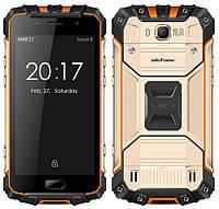Защищенный Смартфон Ulefone Armor 2 4\64Gb Gold Helio P25 MTK6757T + Mali-T880 ip68 4700 mah