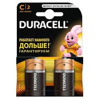 Батарейки алкалиновые DURACELL Basic C LR14 2 шт