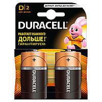 Батарейки алкалиновые DURACELL Basic D 1.5V LR20 2 шт
