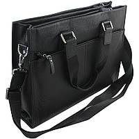 Кожаная мужская сумка для ноутбука.