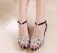 Силиконовые босоножки сандалии с сердечком