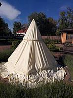 Чехол на фонтан садовый небольшой. Полиестер.