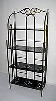 Полка (этажерка) кованая прямая 4, фото 1