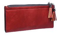 Женский удобный кошелек K322-1 red