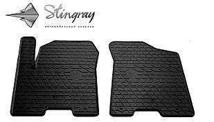 INFINITI QX80 2013- Комплект из 2-х ковриков Черный в салон