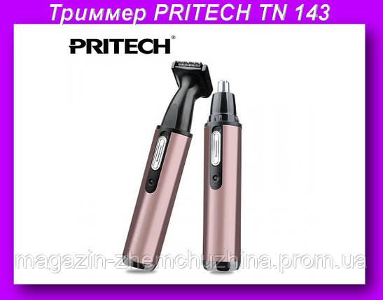 Триммер PRITECH TN 143,Универсальный триммер для носа и ушей PRITECH TN-143, фото 2