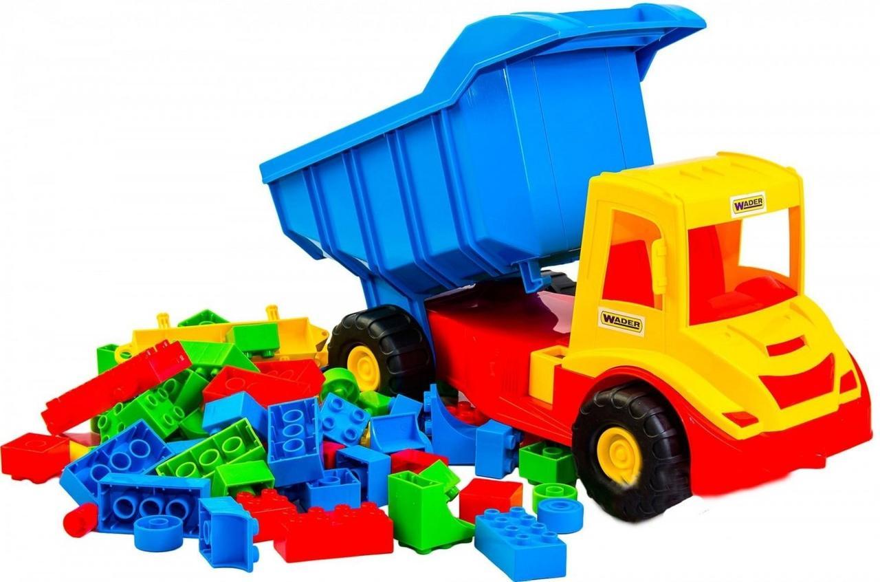 Вантажівка з конструктором Middle truck Wader
