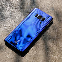 Накладка Baseus Glaze Series SAMSUNG S8 Plus (G955) (Blue)