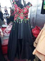 Эксклюзивное платье в пол с выставк+подарок клатч