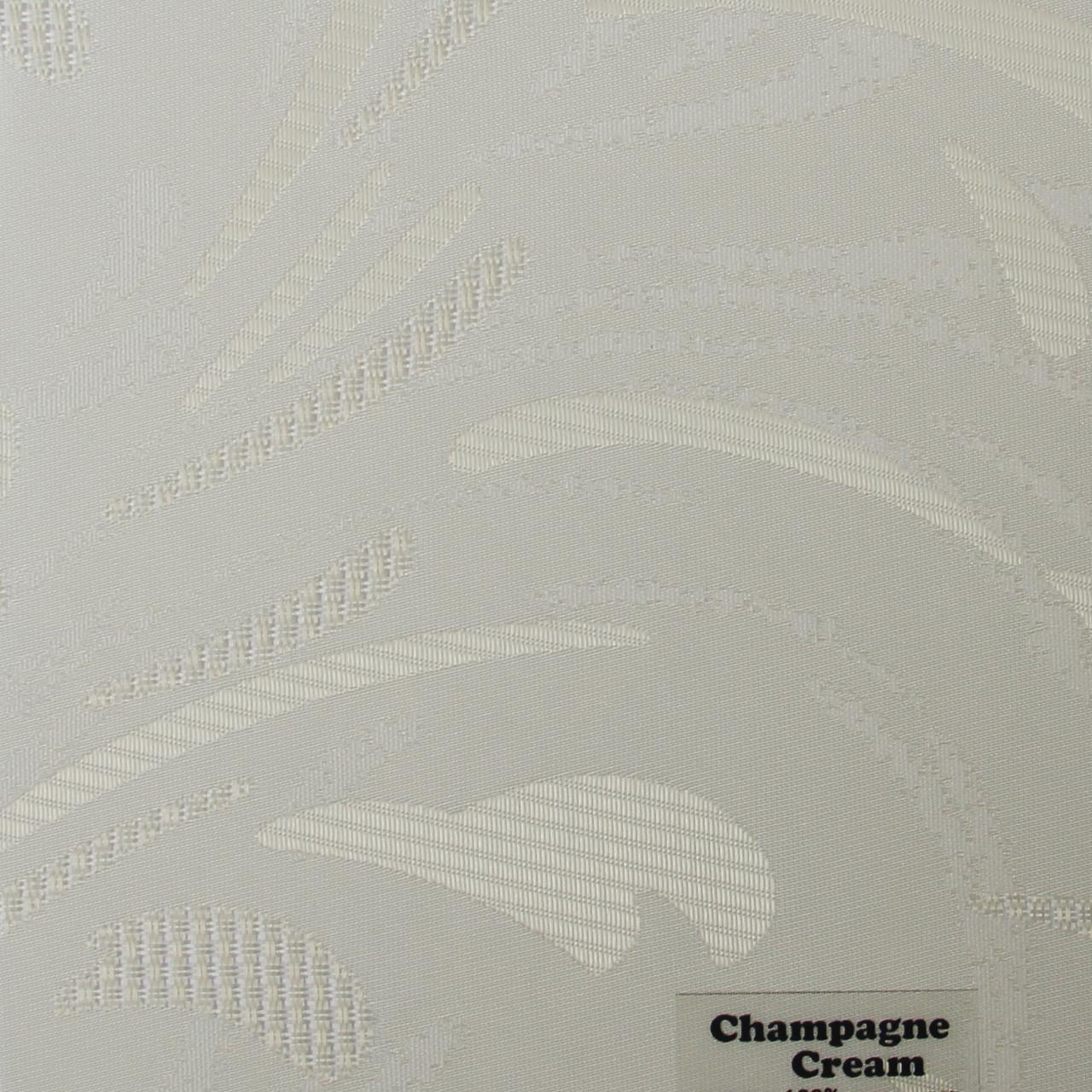 Рулонні штори Одеса Тканина Champagne Cream