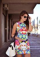 Платье цветочный принт H&M лето