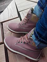 36 размер. В наличии женские зимние ботинки. Материал: эко нубук  Высота подошв