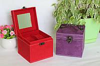 Шкатулка для украшений фиолетовая