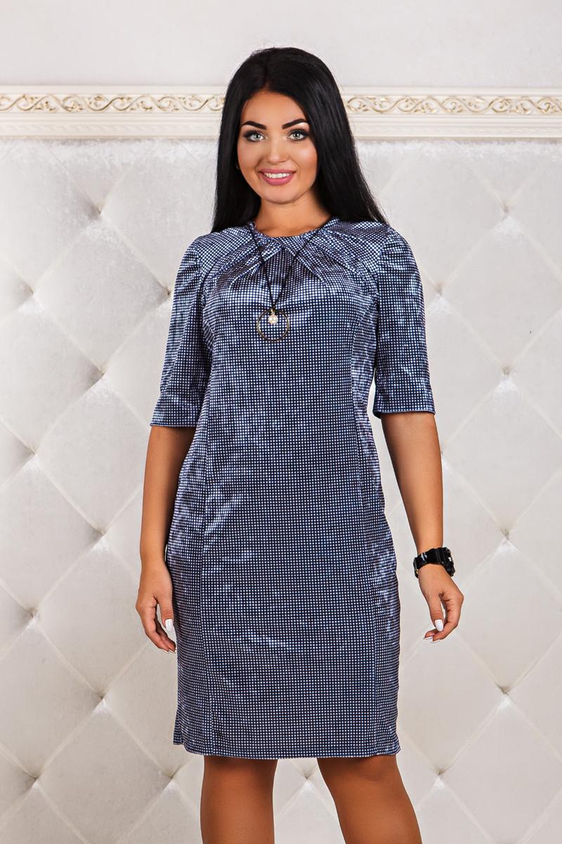 ДТ1164 Платье бархатное размеры 50-56