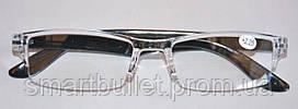 Очки Лектор пластиковые цветной заушник с диоптриями +