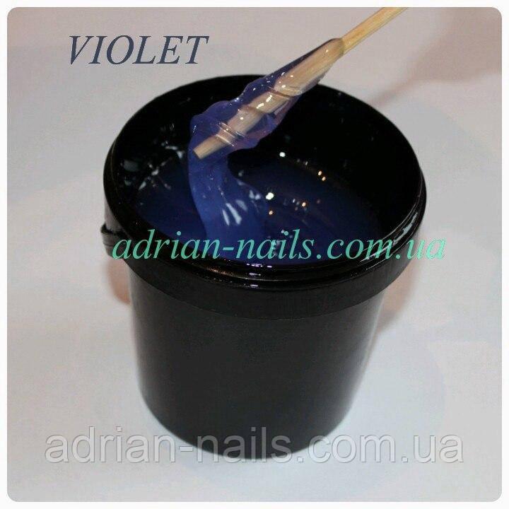 Прозрачно-голубой гель Base One Violet (разлив)
